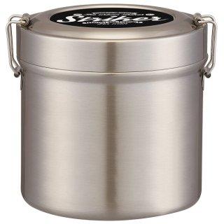 保温・保冷 ステンレス 弁当箱 1050ml 丼・麺弁当 ストライカー|中容器電子レンジ対応/STLB3_423123