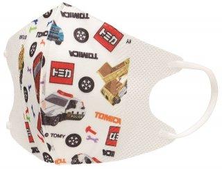 子ども用 不織布 立体マスク[10枚入り] トミカ18/MSKS3_432712