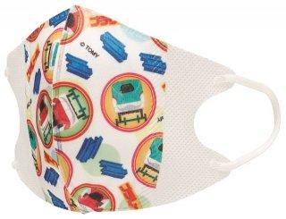 子ども用 不織布 立体マスク[10枚入り] プラレール18/MSKS3_432736