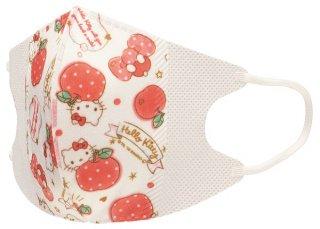 子ども用 不織布 立体マスク[10枚入り] サンリオ ハローキティ ハピネスガール/MSKS3_434068