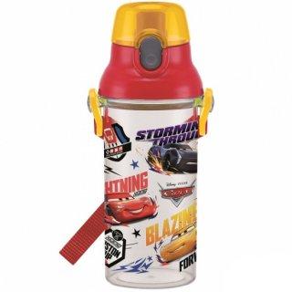 直飲み プラスチック クリアボトル水筒 480ml カーズ19|食洗機対応|子供用/PSB5TR_438448