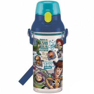 直飲み プラスチック クリアボトル水筒 480ml トイストーリー19|食洗機対応|子供用/PSB5TR_438554