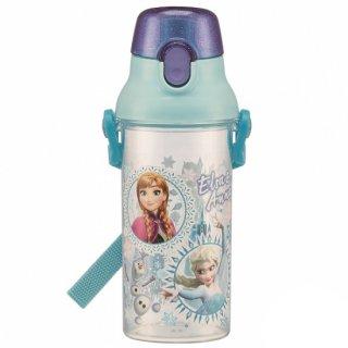 直飲み プラスチック クリアボトル水筒 480ml アナと雪の女王19|食洗機対応|子供用/PSB5TR_439889