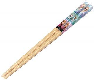 アナと雪の女王19 すべり止加工 竹安全箸 16.5cm【子供用】/ANT2_445705