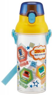 直飲み プラスチック クリアボトル水筒 480ml プラレール19|食洗機対応|子供用/PSB5TR_446108