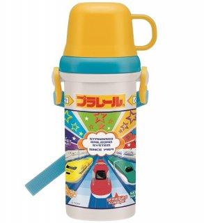 コップ・直飲み 2way プラスチック水筒 480ml プラレール19|食洗機対応|子供用/PSB5KD_446115