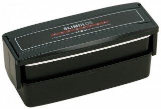 メンズランチ スリム2段 タイトランチボックス 総容量 760ml スリムフィット/PCS45T_127977