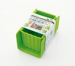 冷凍庫用収納3点セット グリーン/CCBS1_158834