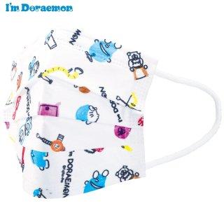 子ども用 不織布 プリーツマスク[10枚入] I'm Doraemon(アイム ドラえもん)/MSKP3_444371