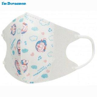 子ども用 不織布 立体マスク[10枚入] サンリオ I'm Doraemon(アイム ドラえもん)/MSKS3_444388