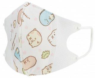 子供用 不織布 立体マスク[10枚入] サンエックス すみっコぐらし/MSKS3_455957
