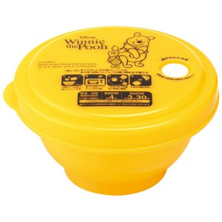 薄肉ごはん保存容器Sお茶碗型 ディスニー くまのプーさん POOH honey/RGO1_498428
