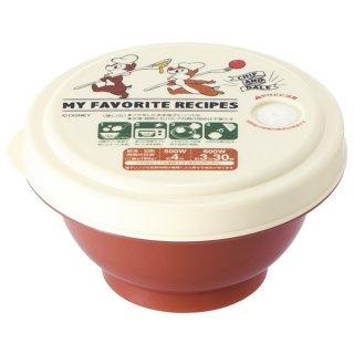 薄肉ごはん保存容器Sお茶碗型 チップ&デール クッキング/RGO1_498534
