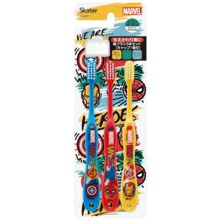 歯ブラシ3本セットキャップ付 MARVEL/マーベル ICON/TB6ST_499326