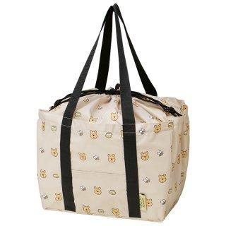 レジかご用バッグ 巾着式 くまのプーさん/KBR44_500503