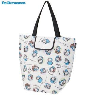 折りたたんでコンパクト! ショッピングエコバッグ I'm Doraemon(アイム ドラえもん) 初期ドラえもん/KBEB0_507243