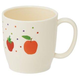 食洗機対応ポリプロピレン製マグコップ はらぺこあおむし フルーツ/XP11_507571