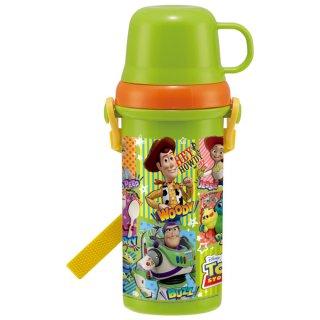 直飲みコップ付きプラスチック水筒 トイストーリー21/PSB5KD_518461