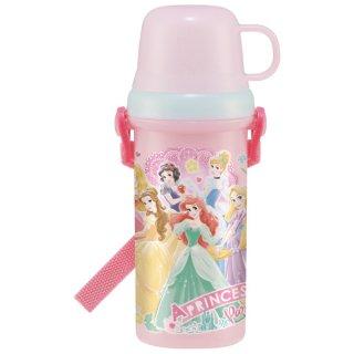 直飲みコップ付きプラスチック水筒 プリンセス21/PSB5KD_518805