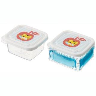 離乳食ケースL 100ml 保冷剤付 しまじろう ボーダー/CLMMS3_508011