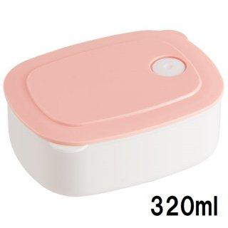 おかず冷凍作りおき容器[S] 320ml パウダーパステル ピンク/SLD1_536052
