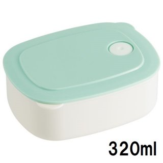 おかず冷凍作りおき容器[S] 320ml パウダーパステル グリーン/SLD1_536069