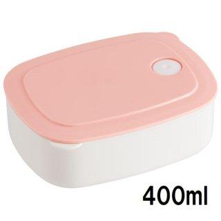 おかず冷凍作りおき容器[M] 400ml パウダーパステル ピンク/SLD2_536090
