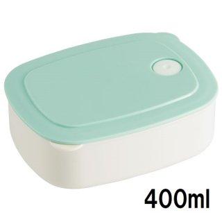 おかず冷凍作りおき容器[M] 400ml パウダーパステル グリーン/SLD2_536106