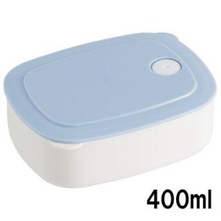 おかず冷凍作りおき容器[M] 400ml パウダーパステル ブルー/SLD2_536113