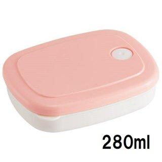 ごはん冷凍作りおき容器[M] 280ml パウダーパステル ピンク/SLG2_535987