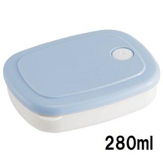 ごはん冷凍作りおき容器[M] 280ml パウダーパステル ブルー/SLG2_536007
