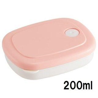 ごはん冷凍作りおき容器[S] 200ml パウダーパステル ピンク/SLG1_535901
