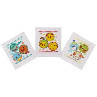 おしぼりタオル 3枚セット ポケットモンスター(ポケモン)/OAC1T_535451