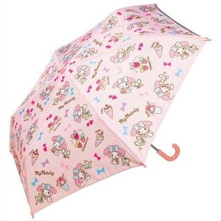 子ども用折りたたみ傘 サンリオ マイメロディ おやつタイム/UBOT1_538865