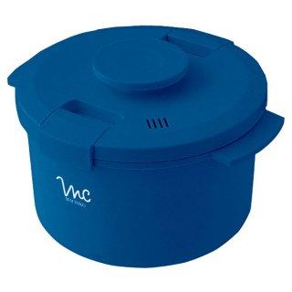 【電子レンジ調理】魔法のお鍋 クック膳[COOK-ZEN] ●ブルー●/MWC1_434037