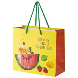 【2枚以上からご注文可能】持ち手つきペーパーランチバッグ(紙バッグS) はらぺこあおむし/PABG1_540271
