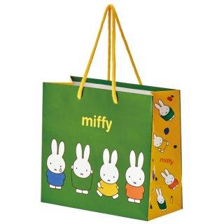 【2枚以上からご注文可能】持ち手つきペーパーランチバッグ(紙バッグS) ミッフィー/PABG1_541315