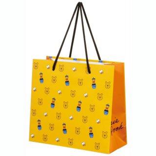 【2枚以上からご注文可能】持ち手つきペーパーランチバッグ(紙バッグS) くまのプーさん/PABG1_536670