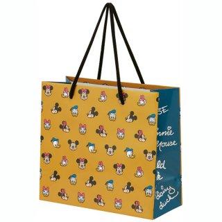 【2枚以上からご注文可能】持ち手つきペーパーランチバッグ(紙バッグS) ミッキーマウス/PABG1_536656