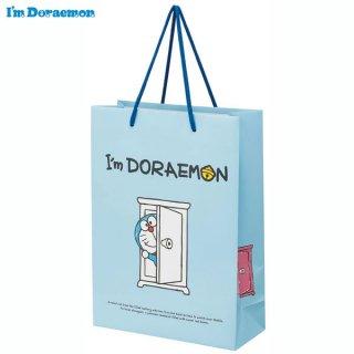 【2枚以上からご注文可能】持ち手つきペーパーレジャーバッグL(紙バッグL) I'm Doraemon(アイム ドラえもん)/PABG3_537189