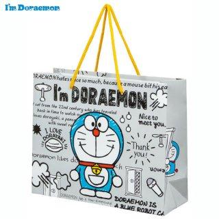 【2枚以上からご注文可能】持ち手つきペーパーレジャーバッグM(紙バッグM) I'm Doraemon(アイム ドラえもん)/PABG2_537172