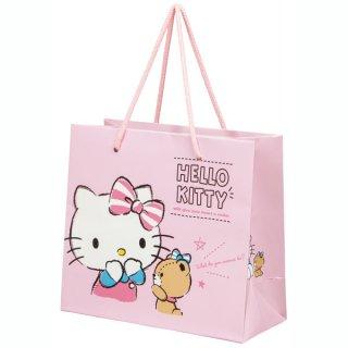 【2枚以上からご注文可能】持ち手つきペーパーランチバッグ(紙バッグS) ハローキティ/PABG1_537134