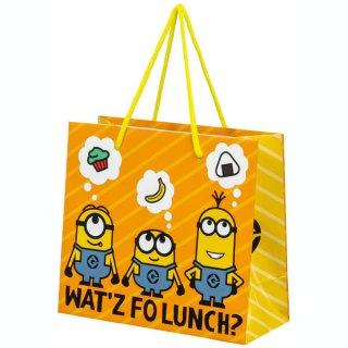 【2枚以上からご注文可能】持ち手つきペーパーランチバッグ(紙バッグS) ミニオン/PABG1_541926