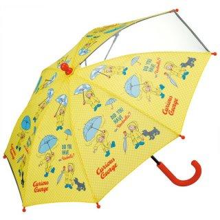 【同梱不可・送料770円】子ども用傘(35cm) おさるのジョージ/UB0_520167