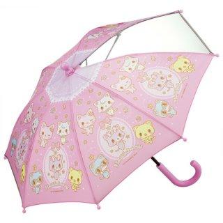 【同梱不可・送料770円】子ども用傘(35cm) サンリオ ミュークルドリーミー おともだち/UB0_521041
