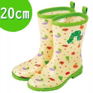 キッズレインブーツ(長靴) 20cm はらぺこあおむし/RIBT4_523359