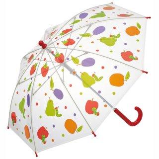 【同梱不可・送料770円】子ども用ビニール傘(40cm) はらぺこあおむし/UBV2_527692