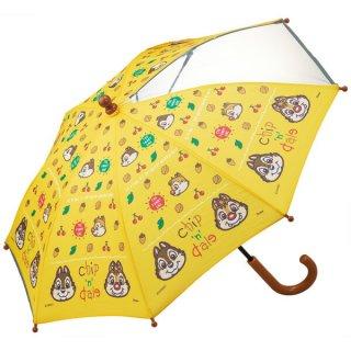 【同梱不可・送料770円】子ども用傘(35cm) ディズニー チップ&デール/UB0_535543