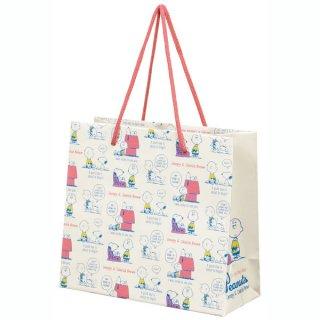 【2枚以上からご注文可能】持ち手つきペーパーランチバッグ(紙バッグS) SNOOPY /スヌーピー/PABG1_538001