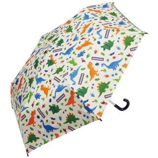 子供用 晴雨兼用折りたたみ傘(50cm) ディノサウルス(恐竜)/UBOTSR1_542046